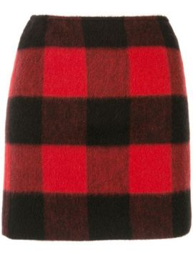 Checked Fitted Skirt - Dsquared2