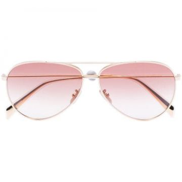 Gradient Aviator Sunglasses - Celine Eyewear