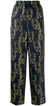 Embroidered Trousers - Forte Forte