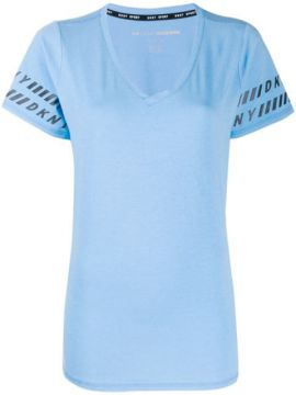 Logo Trim T-shirt - Dkny
