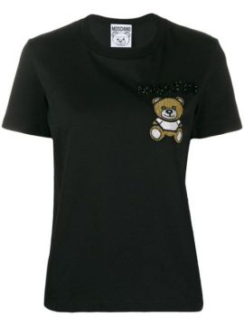 Beaded Teddy Bear T-shirt - Moschino