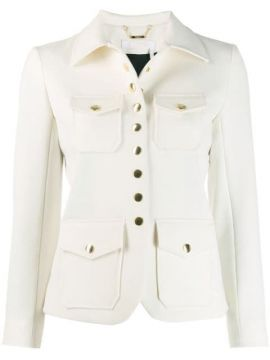 Fitted Button-up Jacket - Chloé