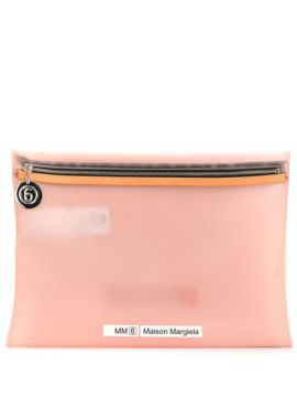 Contrasting Detail Clutch - Mm6 Maison Margiela