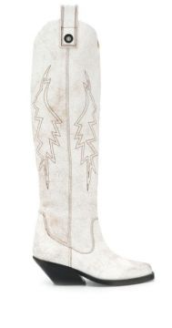 Over The Knee Western Boots - Diesel
