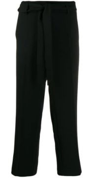 Cropped Tailored Trousers - Cambio