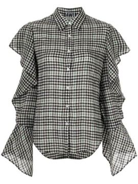 Ruffled Sleeve Shirt - Dawei