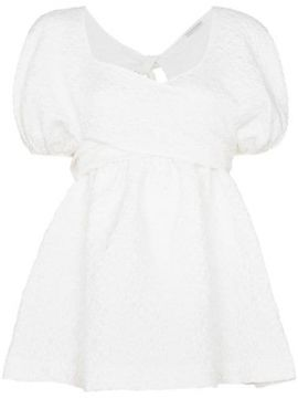 Angie Puff-sleeve Blouse - Cecilie Bahnsen