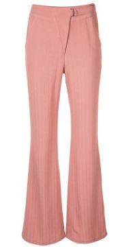 Striped Flare Trousers - Dawei