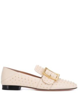 Janelle Buckle Loafers - Bally