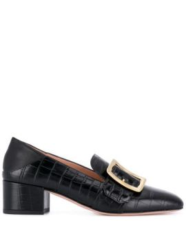 Janelle Buckle Mules - Bally