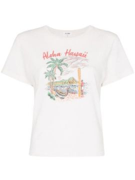 Aloha Hawaii Printed T-shirt - Re/done