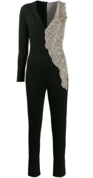 Beaded Panel Jumpsuit - Loulou