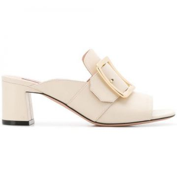 Janaya Buckle Mules - Bally