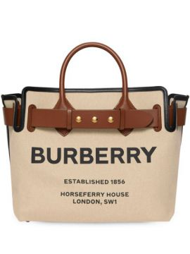 The Medium Canvas Bag - Burberry