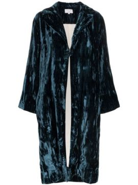 Crushed Velvet Robe - Collina Strada