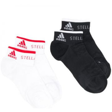 Pack Of 2 Low Socks - Adidas By Stella Mccartney