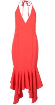 Fishtail Hem Dress - Aidan Mattox
