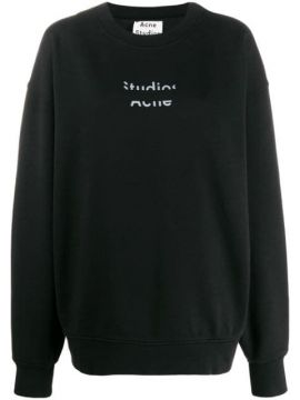 Cut Out Logo Sweater - Acne Studios
