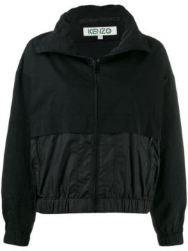 High Neck Logo Jacket - Kenzo