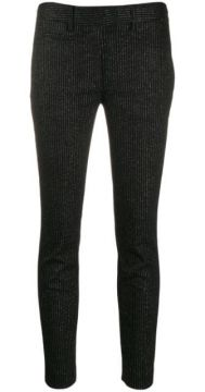 Cropped Skinny Trousers - Dondup