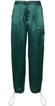 Satin Cargo Trousers - Collina Strada