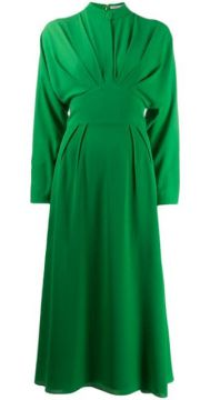 Pleated Midi Dress - Emilia Wickstead