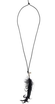 Goose Feather Necklace - Ann Demeulemeester