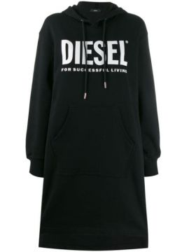 Logo Print Sweat Dress - Diesel