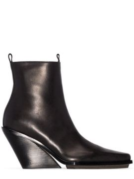 Pointed Ankle Boots - Ann Demeulemeester