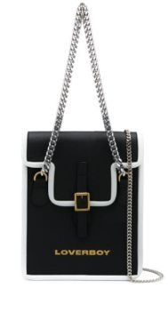 Shoulder Bag With Contrast Piping - Charles Jeffrey Loverboy