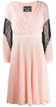 Pleated Dress - Boutique Moschino