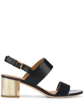 Block Heel Sandals - Tory Burch