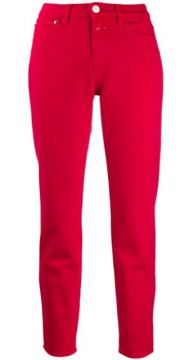 High-waisted Slim-fit Jeans - Closed