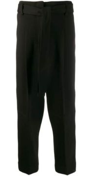 Cropped Tie Front Trousers - 3.1 Phillip Lim
