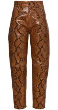 Python-effect Tapered Trousers - Attico