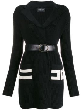 Ribbed Knit Fitted Dress - Elisabetta Franchi