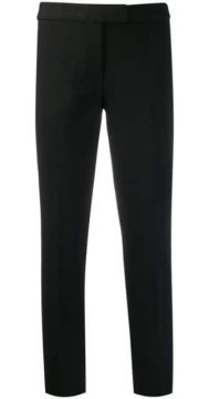Slim Fit Cropped Trousers - Michael Kors Collection