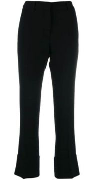 Slim-fit Crepe Trousers - Alberto Biani