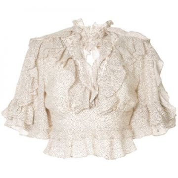 Blusa Cropped Wickham - Acler