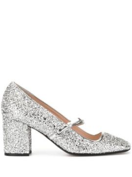Glitter Mary-jane Pumps - Nº21