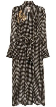 Olatz Polka-dot Robe - Figue