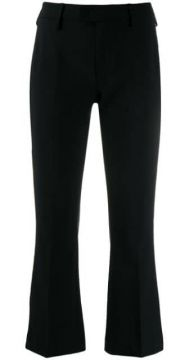 Flared Tailored Trousers - Dondup