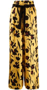 Floral-print Wide-leg Trousers - Alysi