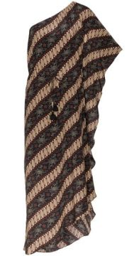 Maisie Batik-print Striped Dress - Figue