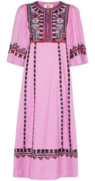Electra Embroidered Dress - Figue