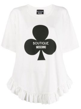 Graphic T-shirt - Boutique Moschino
