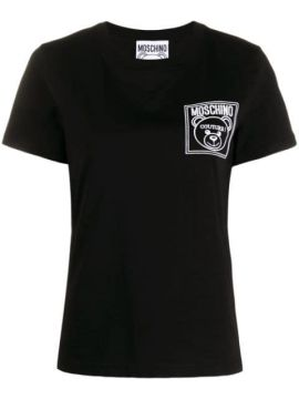 Logo Patch T-shirt - Moschino