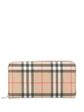 Heritage Check Wallet - Burberry