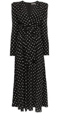 Polka Dot Tea Dress - Alessandra Rich