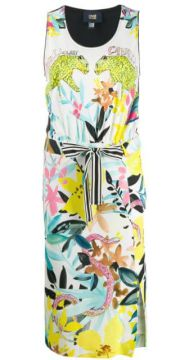 Vestido Midi Estampado jungle - Cavalli Class